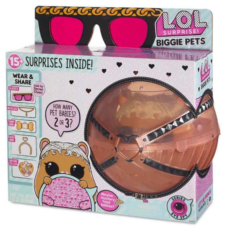 L.O.L. Surprise! Eye Spy Series MC Hammy Biggie Pets