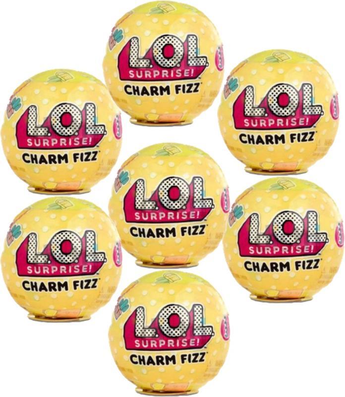 L.O.L. Surprise! Charm Fizz Series 3 - [ Set of 7 ]