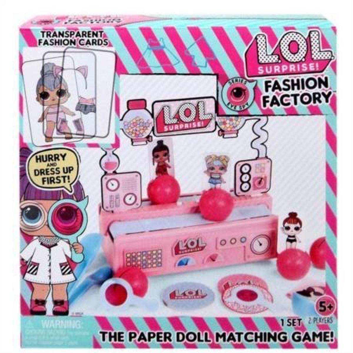 L.O.L Surprise! Fashion Factory Game