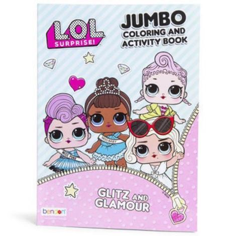 L.O.L. Surprise! Glitz and Glamour Jumbo Coloring and Activity Book