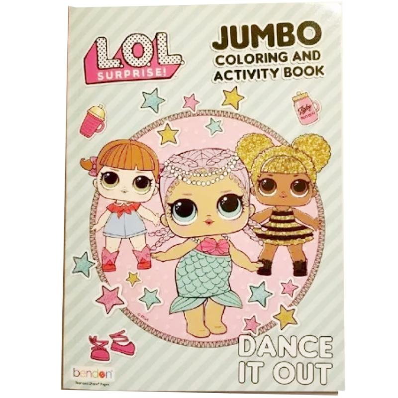 L.O.L. Surprise! Jumbo Coloring and Activity Book