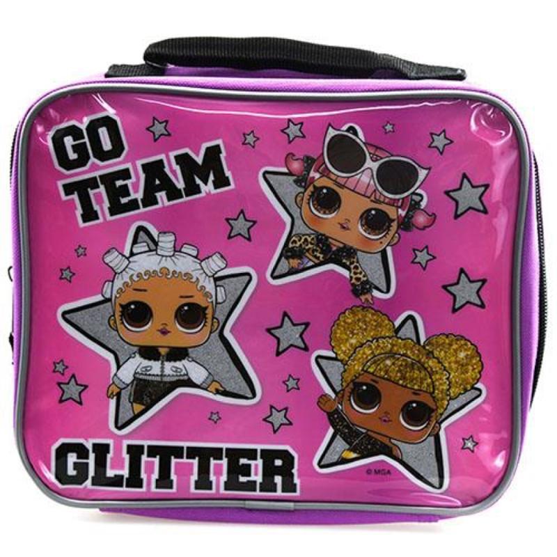 LOL Surprise Go Team Glitter Lunch Bag