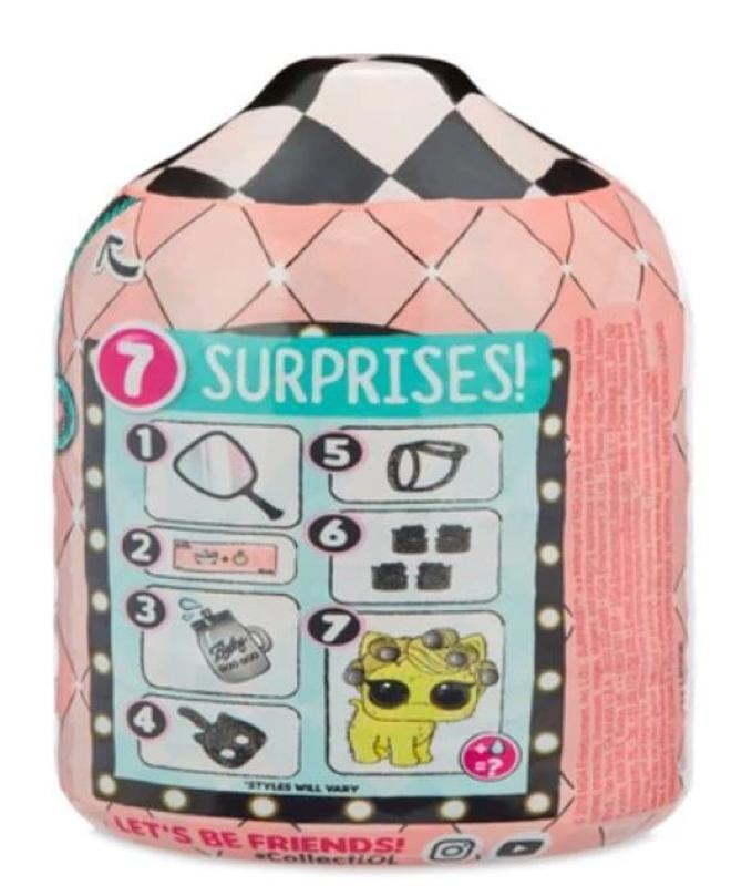 L.O.L. Surprise! Fuzzy Pets Makeover Series