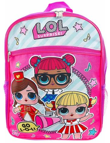 LOL Backpack with Surprise Inside, 16 Inch