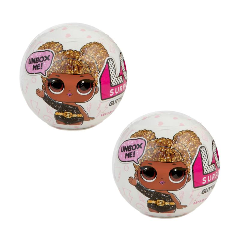 L.O.L. Surprise! Glitter (1st Edition) Mystery Pack L.O.L. Dolls, 2 Pack