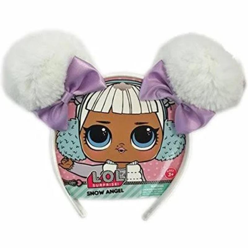 L.O.L. Surprise! Party Set, Tote Bag, Snow Angel Headband, Snap Hair Clips, and Bracelets Set