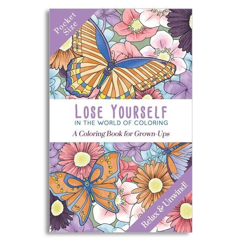 Lose Yourself Pocket Coloring Book