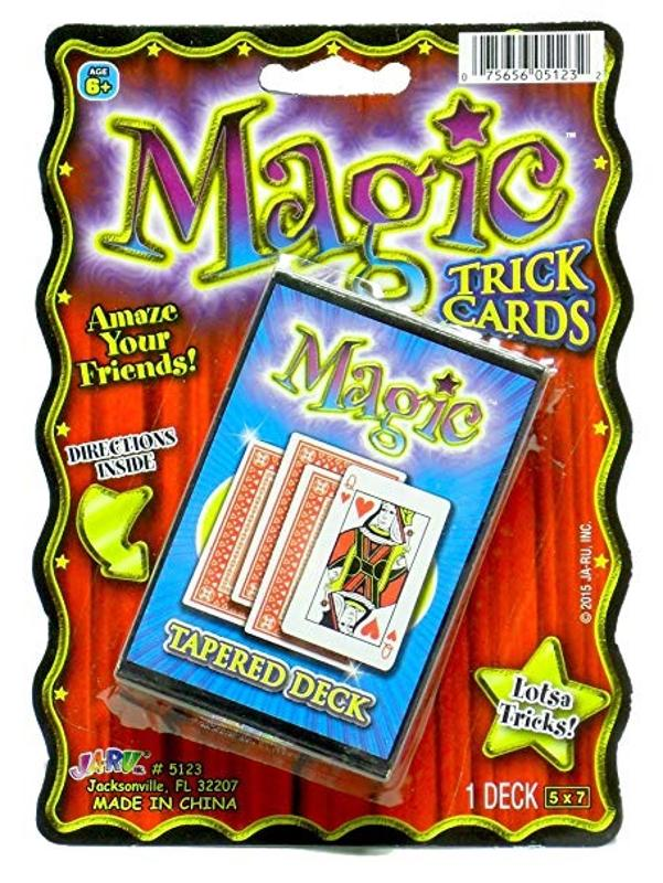 Magic Cards Tapered Deck