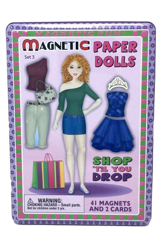 Magnetic Paper Dolls Shop Til You Drop