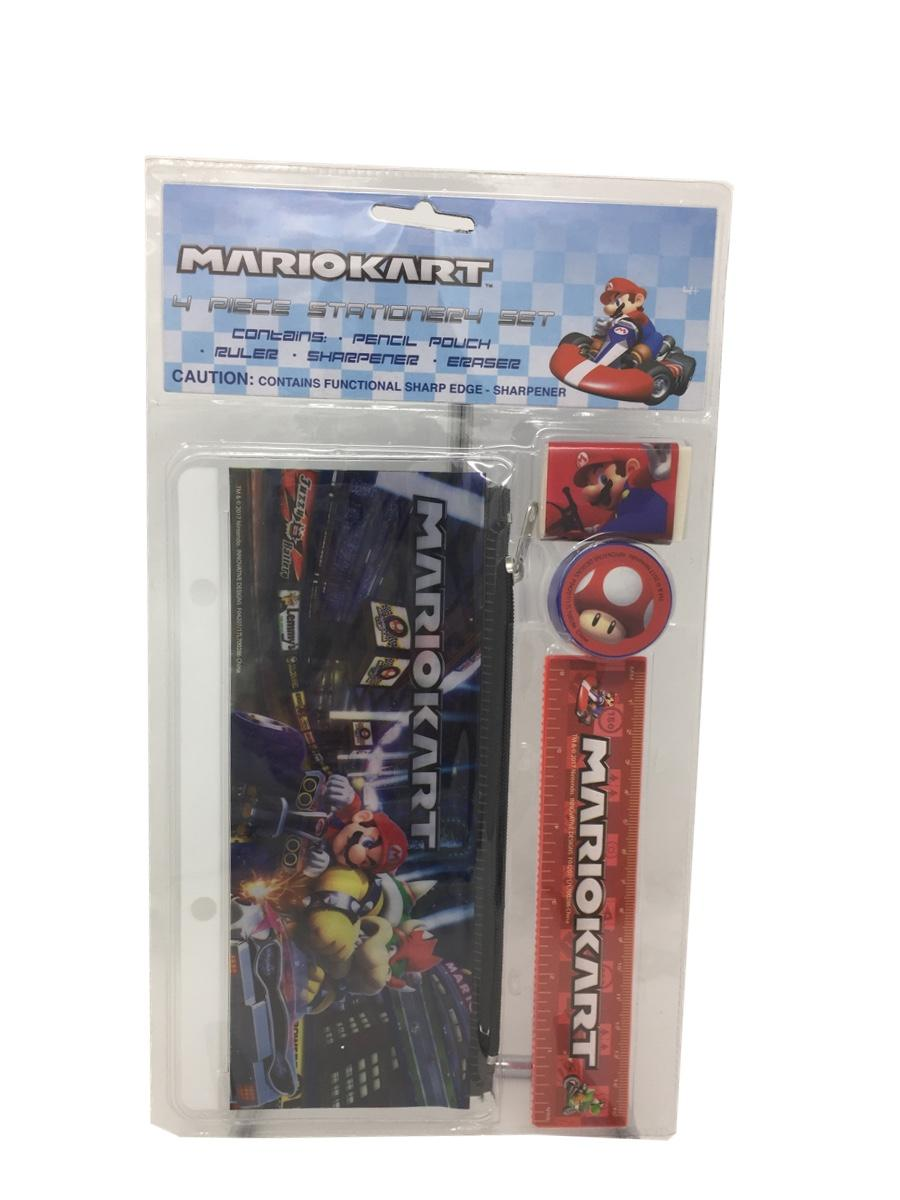 Mario 4 Piece Stationery Set