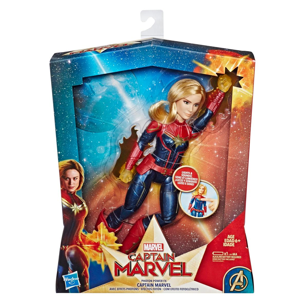 Marvel Captain Photon Power FX Electronic Super Hero Doll
