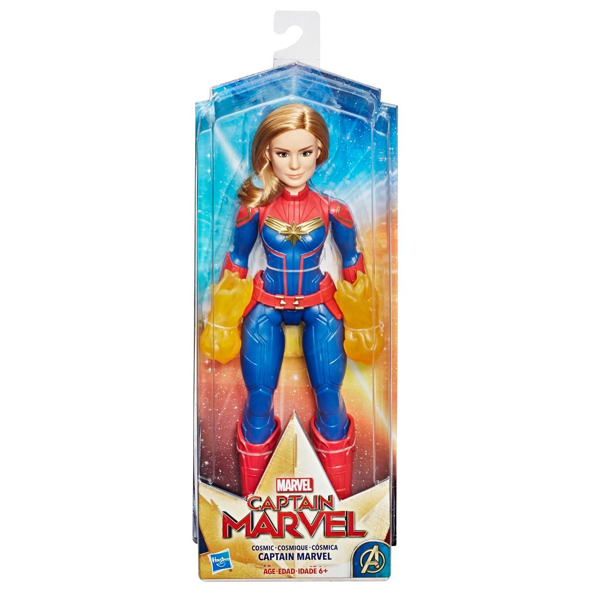 Captain Marvel Cosmic Captain Super Hero Doll