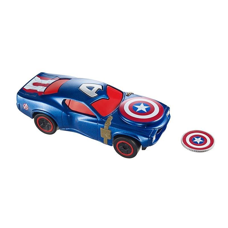 Deluxe Captain America Cars with Shields