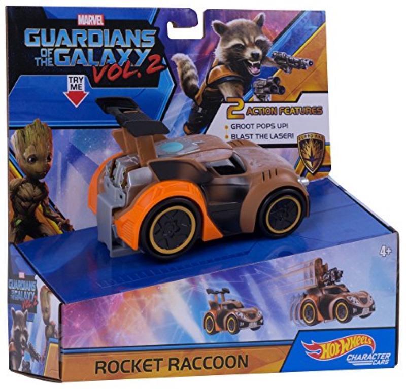 Deluxe Rocket Raccoon Cars