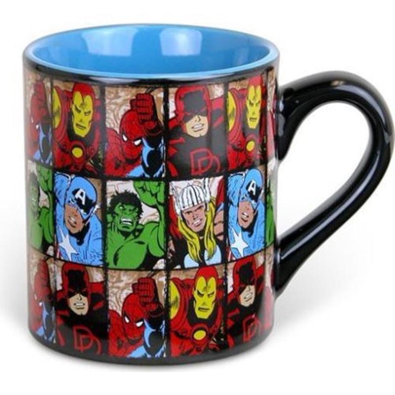 Marvel Grid Mug