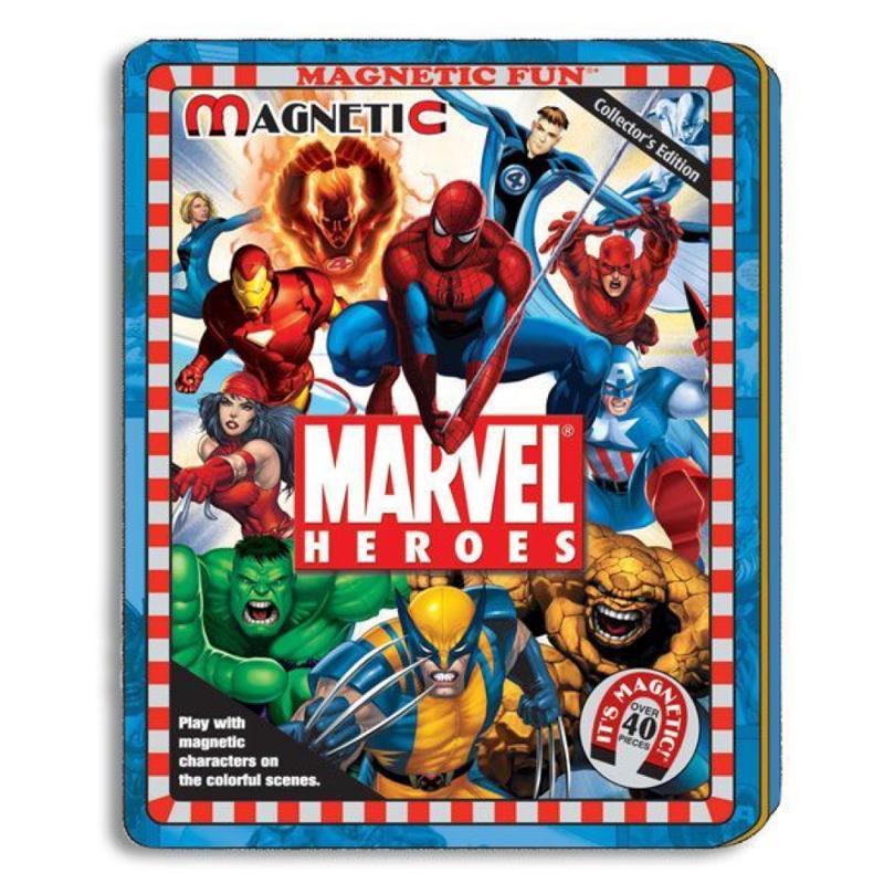 Marvel Magnetic Play Set