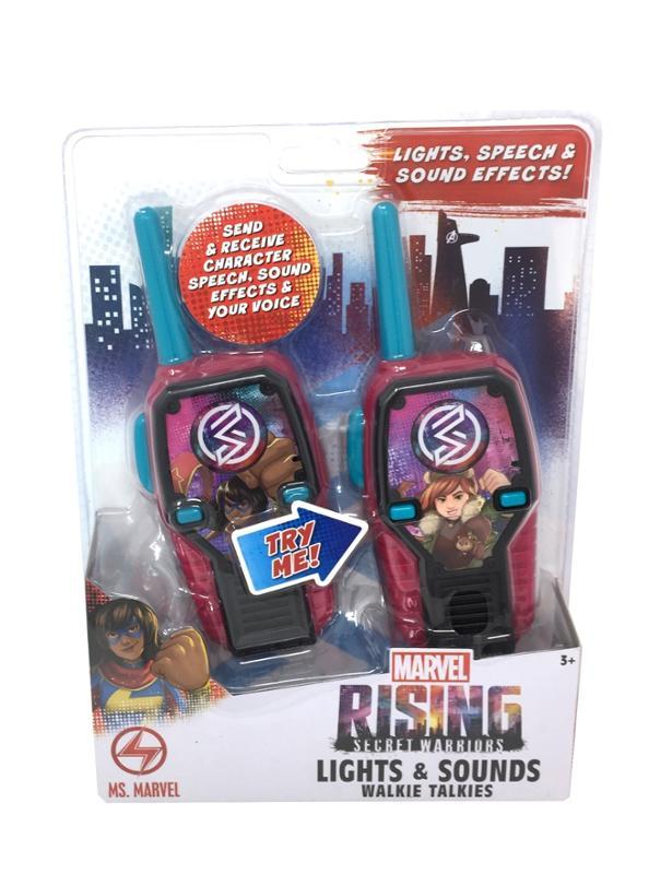 Marvel Rising Secret Warriors Lights and Sounds Walkie Talkies