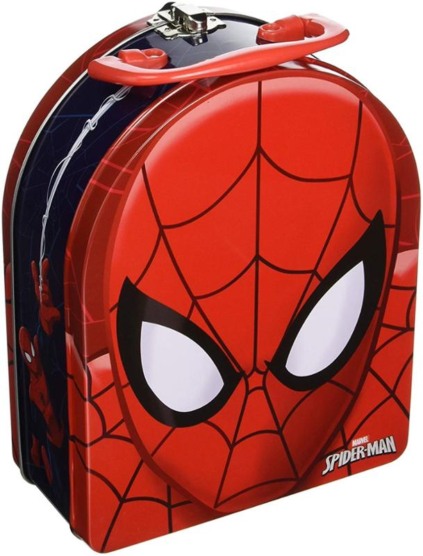 Spiderman Arch Shape Carry All Tin