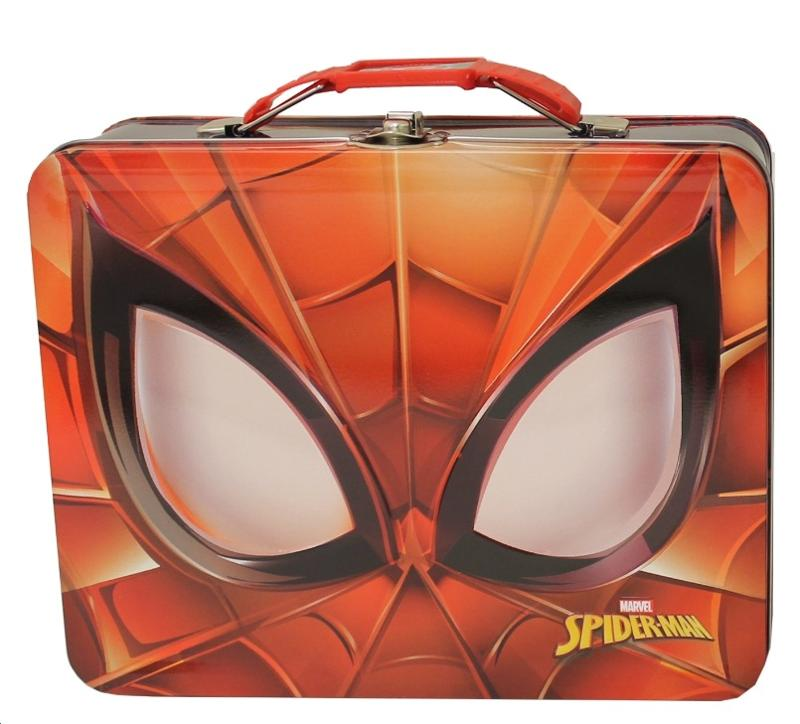 Spider-Man Face Lunch Tin