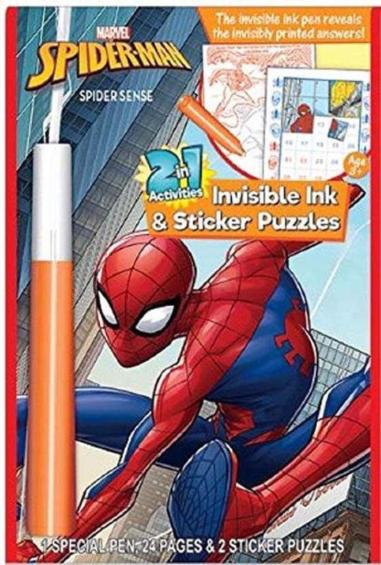 Spider-Man Magic Pen Book