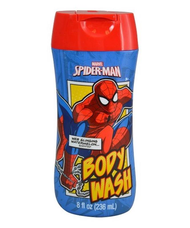Spider-Man Kids Body Wash, Watermelon Scented