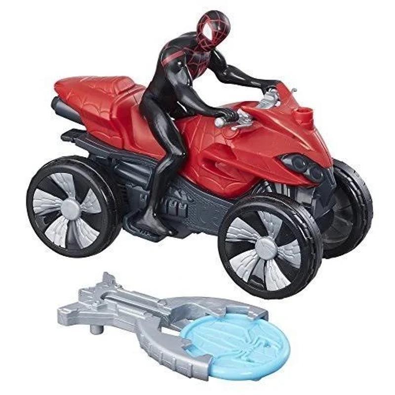 Marvel-Spiderman Blast N Go Kid Arachnid