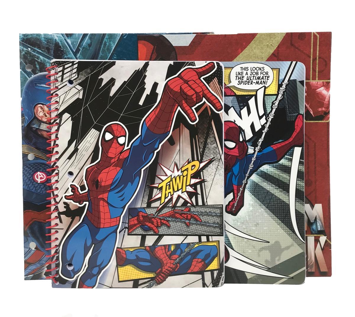 Marvel Themed 4 Piece Stationery Set