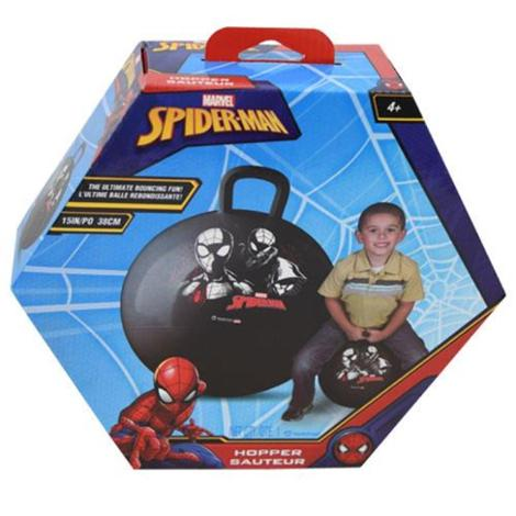 Ultimate Spiderman Into The Spider Verse Inflatable Hopper Ball