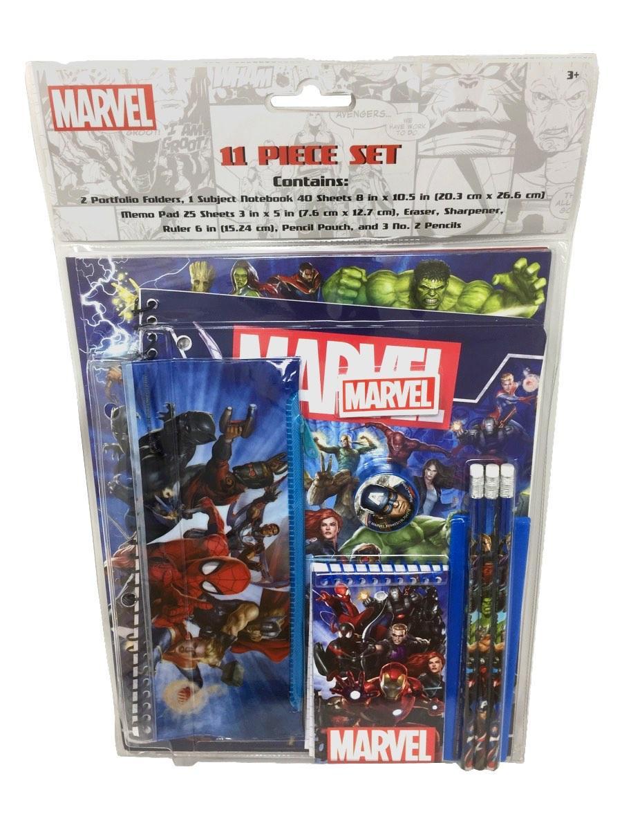 Marvel Universe 11 Piece Stationery Set