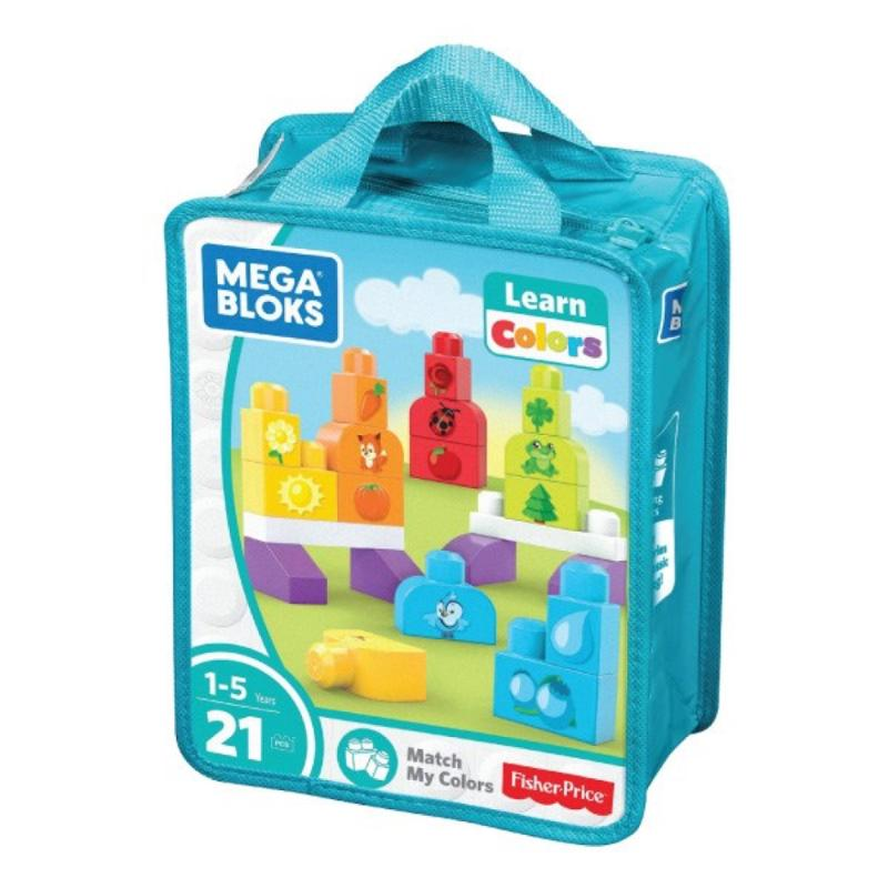 Mega Bloks Build and Learn Match My Colors