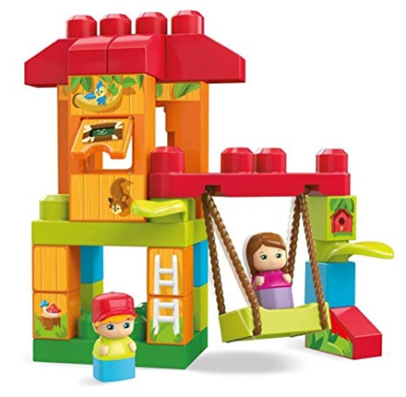 Mega Bloks Spin and Play Treehouse Adventures