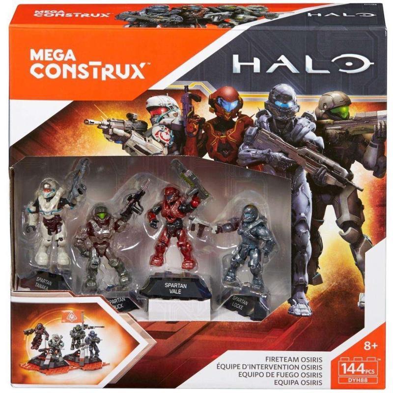 Mega Construx Halo Fire Team Osiris Building Set