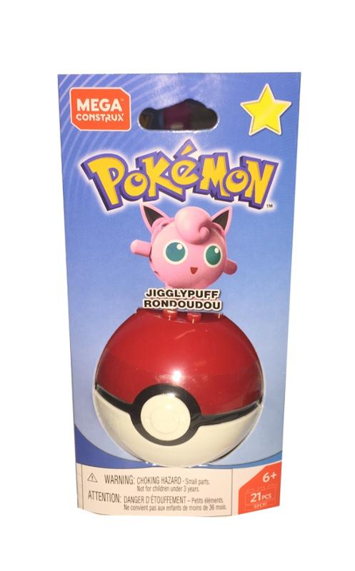 Mega Construx Pokemon Ball Jigglypuff Rondoudou