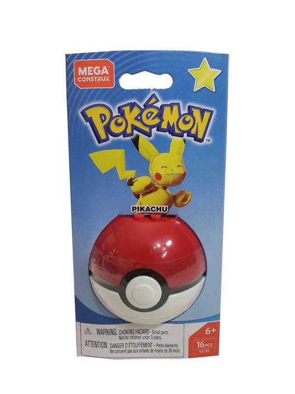 Mega Construx Pokemon Ball Pikachu