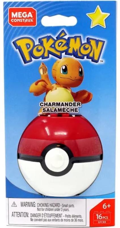Mega Construx Pokemon Ball Charmander