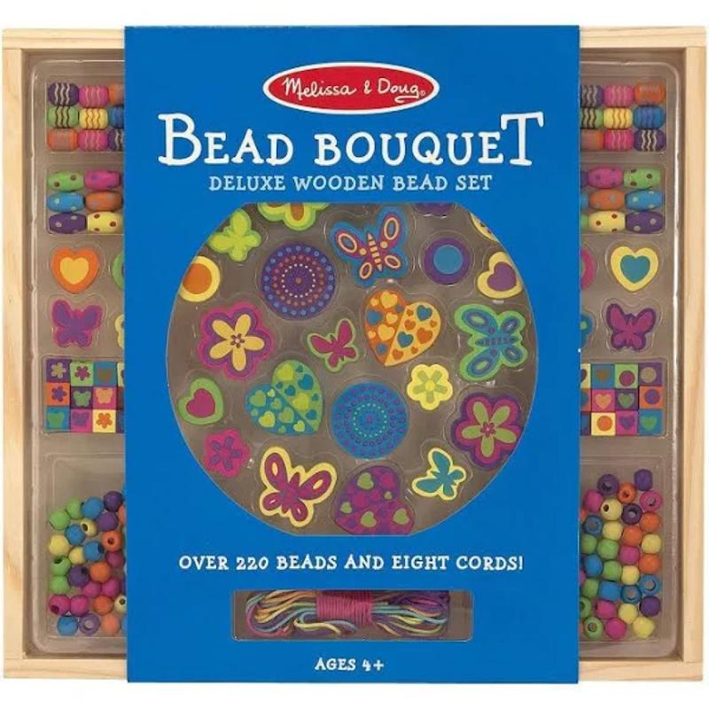 Melissa & Doug Created by Me! Bead Bouquet Jewelry Craft Kit