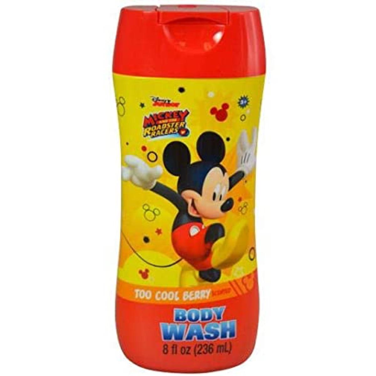 Mickey And The Roadster Racers Body Wash Too Cool Berry Scented