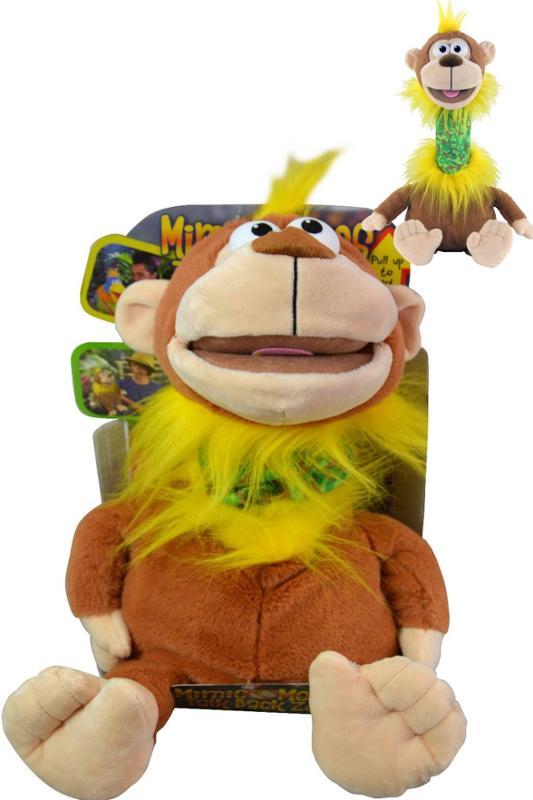 Mimic Mees Talk Back Zoo Puppet Monkey