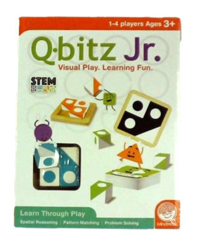 MindWare Q-bitz Jr. Board Game