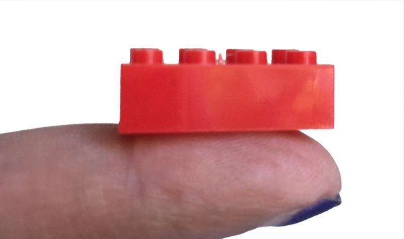 Mini Blocks 170 Pc In Golden Egg