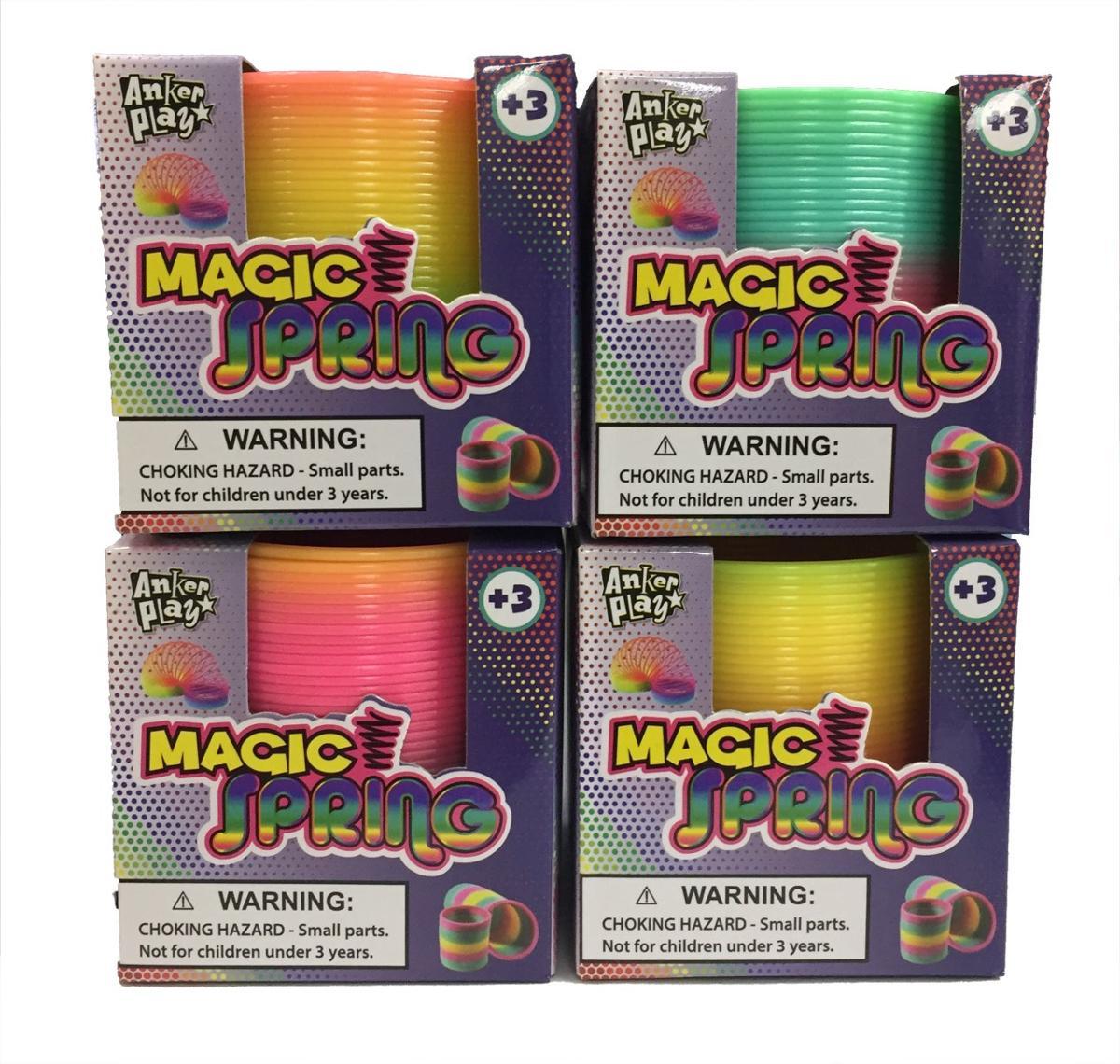 Mini Magic Rainbow Spring 4 Pieces