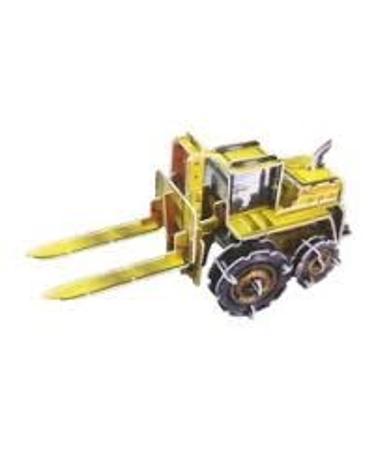 Miniature 3-D Puzzle - Forklift