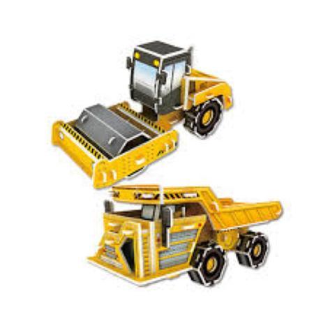 Miniature 3-D Puzzle - Roller