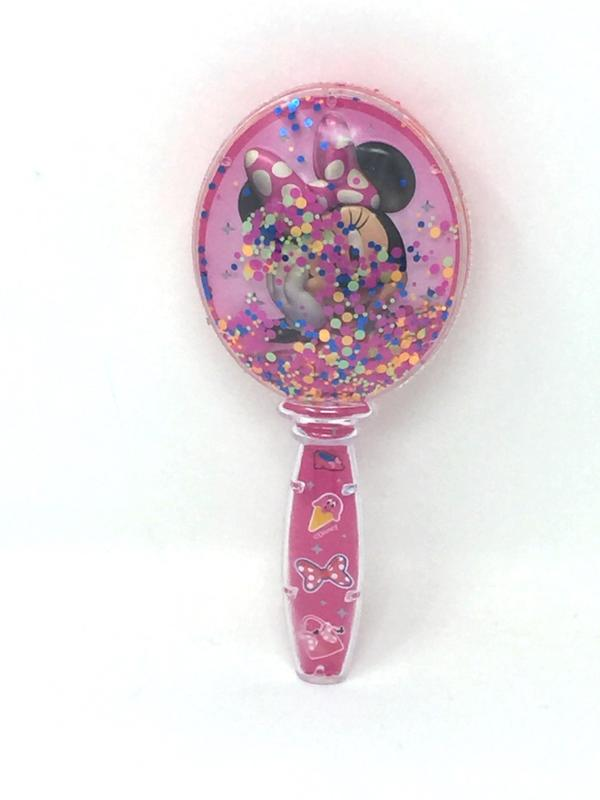 Minnie Glitter Shaker Confetti Brush