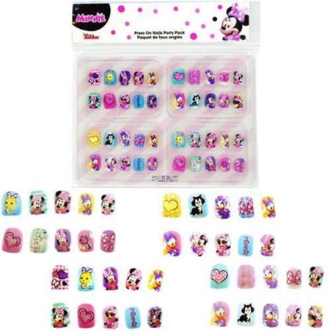 Minnie Kids Press On Nails 40 Pieces
