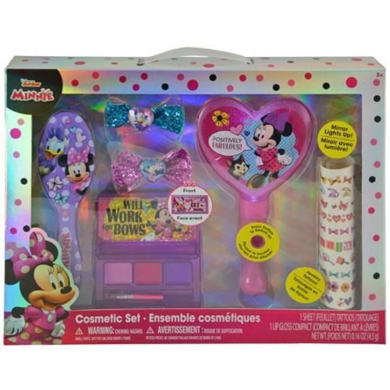 Minnie Cosmetic Set with Light Up Mirror