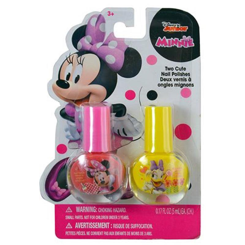 Minnie Mouse 2 Pk Nail Polish