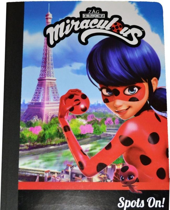 Miraculous Ladybug Composition Book