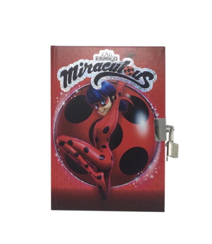 Miraculous Ladybug Themed 5 Piece Stationery Set