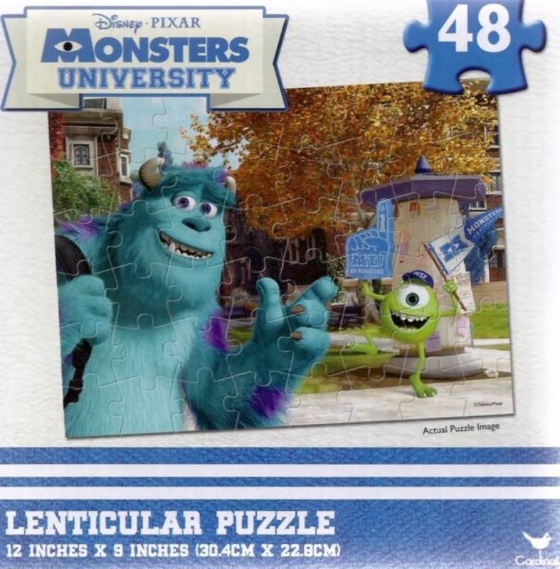 Monsters University 48 pc Lenticular Puzzle